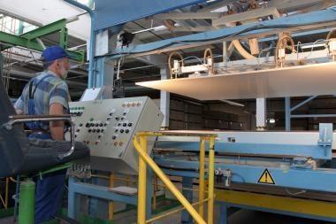 Kauno LEZ bus statoma izoliacinių plokščių gamykla