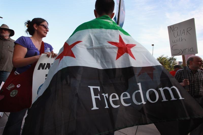 Naujojo Sirijos opozicijos aljanso vadovu išrinktas dvasininkas