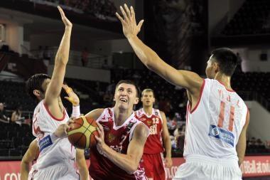 Rusijos rinktinė dramatiškose rungtynėse palaužė kinus