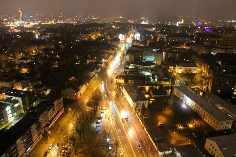 EK atstovai palaiko Vilniaus planus modernizuoti miesto apšvietimą