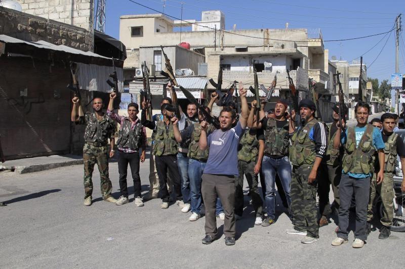 Vakarų šnipai padeda Sirijos sukilėliams