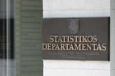 Statistikos departamento vadovas - J.Markelevičius