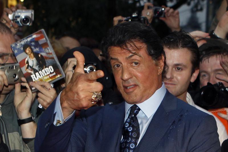 """S. Stallone dėl kritikos pasitraukė iš socialinio tinklo """"Twitter"""""""