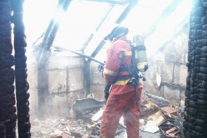 Per gaisrą nukentėjo senolė