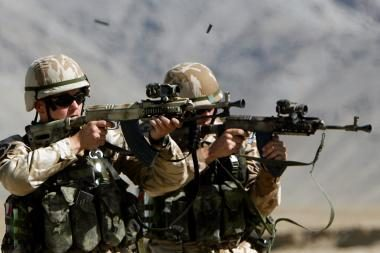 Afganistanas: per susirėmimus su talibais žuvo šeši NATO kariai