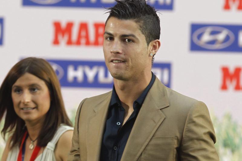 """C.Ronaldo įteiktas """"Pichichi"""" apdovanojimas"""