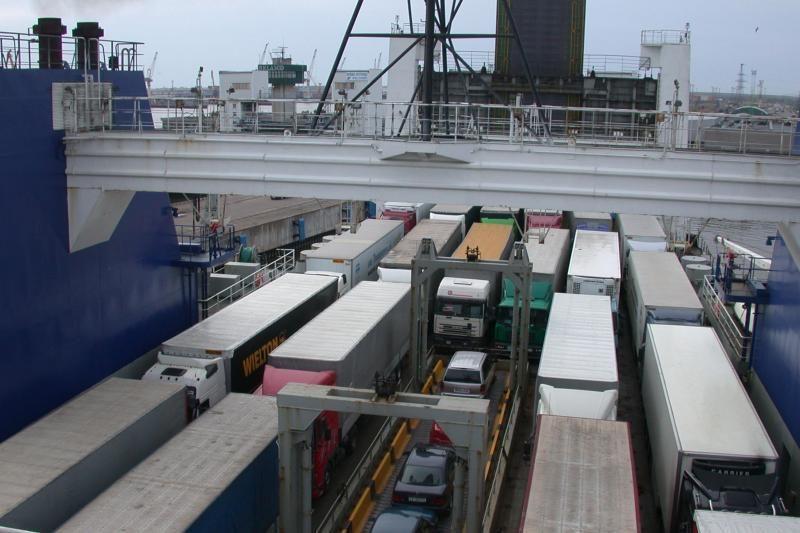 Spalio mėnesį perkrautas rekordinis kiekis jūrinių krovinių