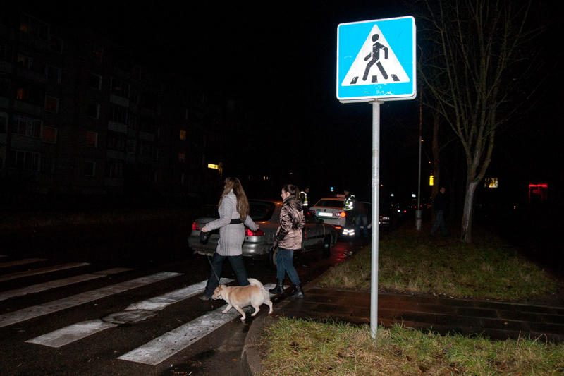Klaipėdoje automobiliai daužė pėsčiuosius