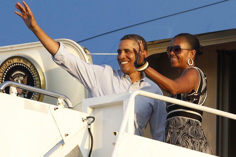 Europiečiai triuškinamai perrinktų JAV prezidentą B.Obamą