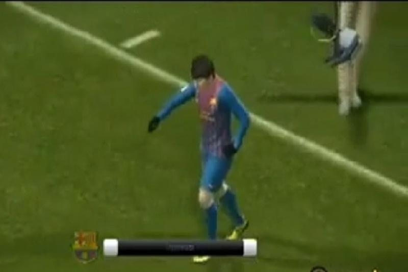 """L.Messi mėgdžioja M.Jacksono """"mėnulio eiseną"""""""