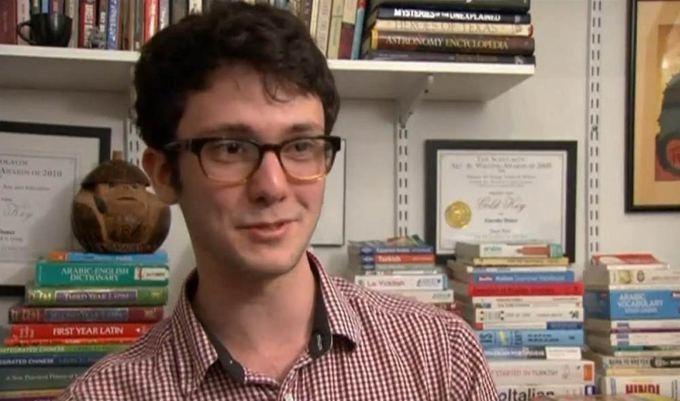 Moksleivis per keletą metų išmoko daugiau nei 20 užsienio kalbų