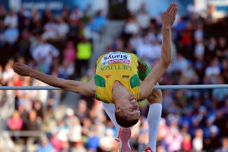 R.Stanys iškovojo sidabro medalį lengvosios atletikos čempionate