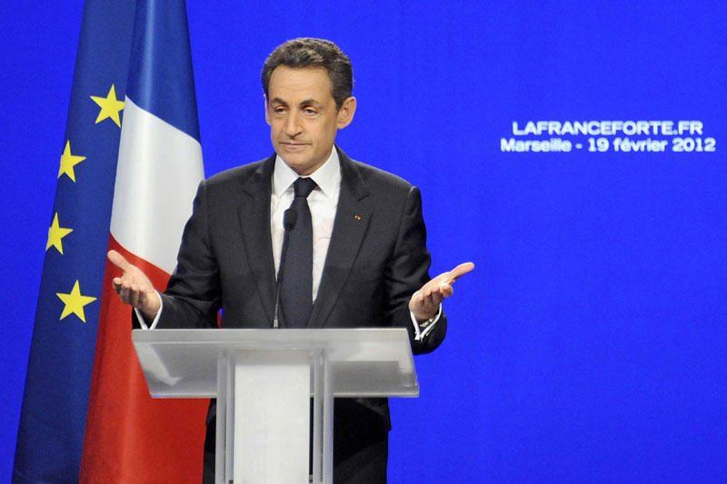 """N.Sarkozy žadėjo būti """"žmonių kandidatu"""""""