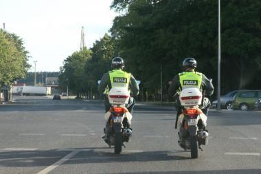 Savaitgalis Klaipėdoje patrulių akimis