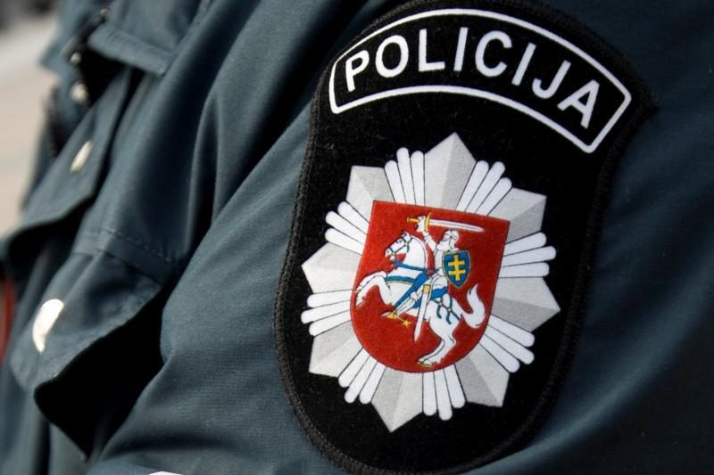 Kėdainiuose sumuštas policijos pareigūnas