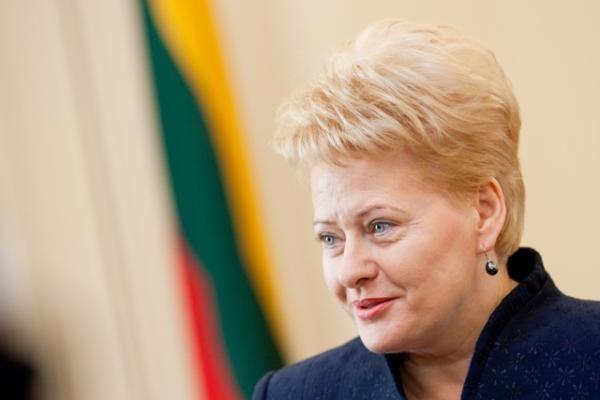 D.Grybauskaitė: šalies ekonomika pamažu atsigauna, tačiau dar anksti džiaugtis