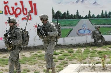 Irako pajėgos perėmė dar vienos provincijos kontrolę