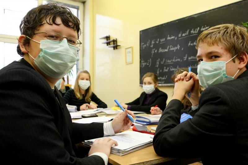 Gripo epidemija Kaune bus atšaukta kitą savaitę?