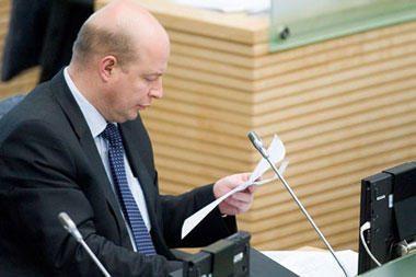 Seimas balsuos dėl V.Babiliaus teisinės neliečiamybės