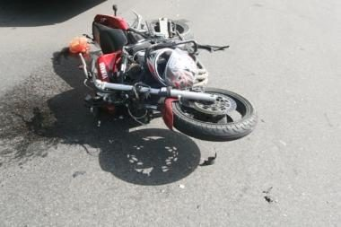 Žuvo du motociklu važiavę vaikinai