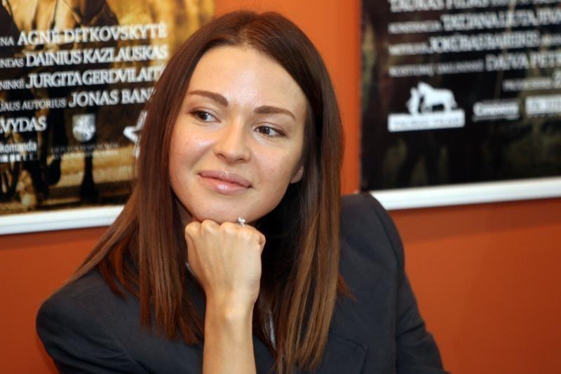 A.Ditkovskytė susituokė su savo ilgamečiu draugu
