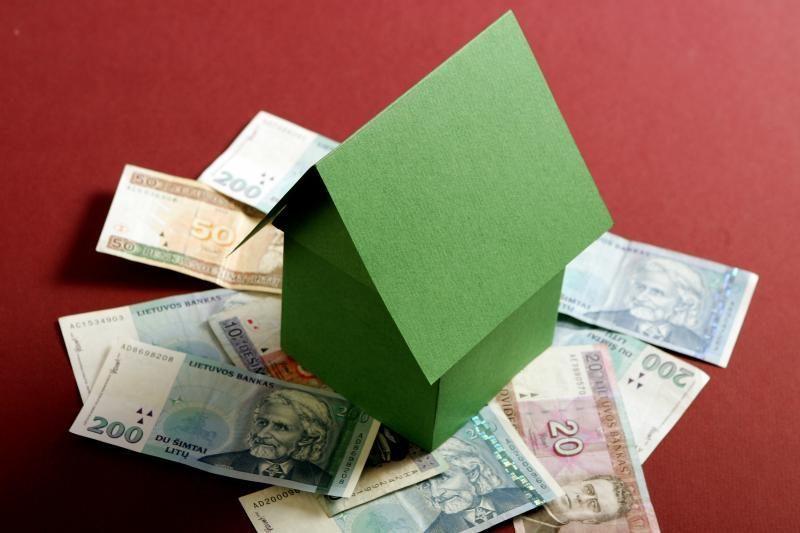 Gyventojų pradelstos skolos balandį padidėjo 30,5 mln. litų