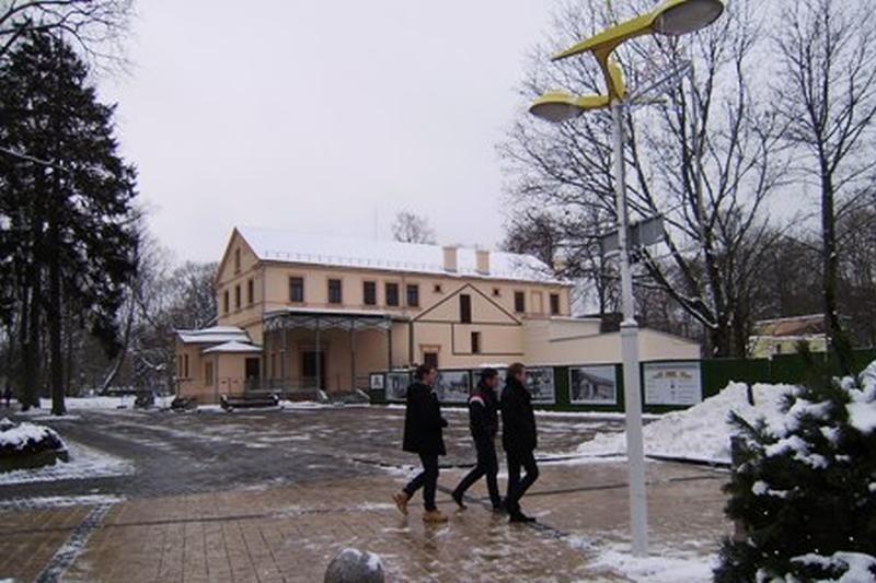 Kultūros paveldo departamentas kreipėsi į teismą dėl kurhauzo