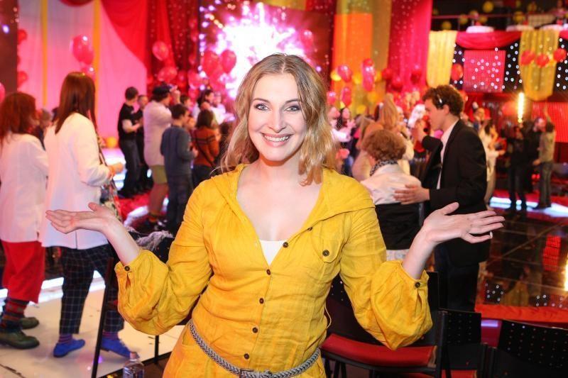 Aktorė Aušra Štukytė – į šokėjo Tomo Slausgalvio glėbį
