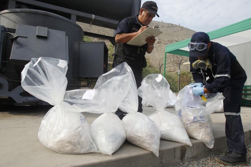 Italijoje konfiskuota 630 kg labai gryno kokaino iš Brazilijos
