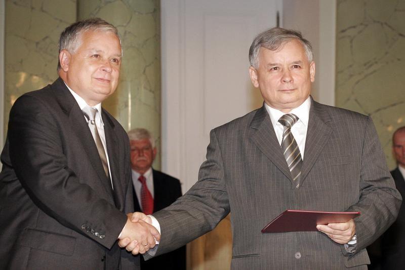 Lenkijoje mirė brolių dvynių Kaczynskių motina