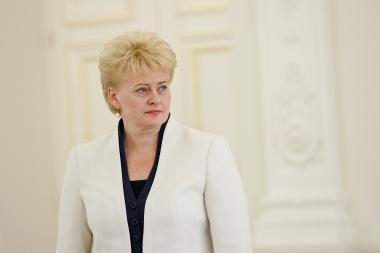 D.Grybauskaitė pritartų, kad teismuose dirbtų tarėjai