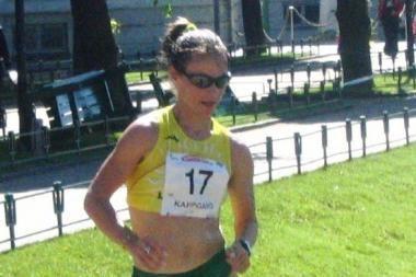 Kristina Saltanovič sportinio ėjimo varžybose Italijoje buvo šešta