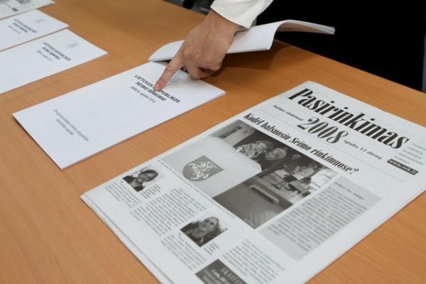 Balsai Vilniaus vienmandatėse (atnaujinta)