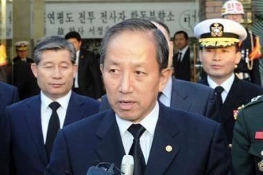 Pietų Korėjoje po artilerijos apšaudymo paskirtas naujas gynybos ministras