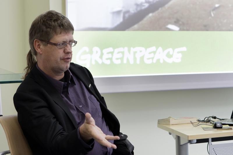 """""""Greenpeace"""" netiki, jog Lietuva ekonomiškai pajėgi pasistatyti AE"""