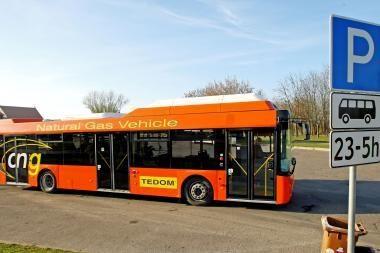 Kaunui siūlomi ekologiški autobusai
