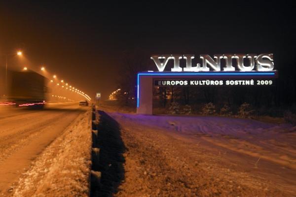 """Paryžiuje Vilnius vadinamas """"Baltijos šalių žvaigžde"""""""