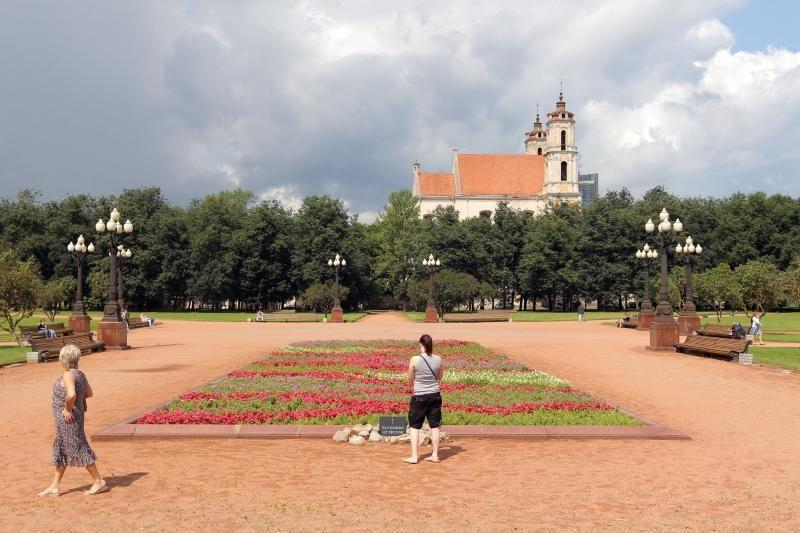 Lukiškių aikštėje buvo minimos Vilniaus atgavimo metinės