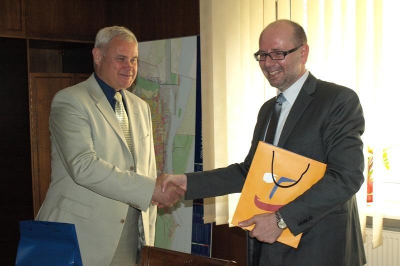 Klaipėdos meras ir Čekijos ambasadorius įvertino bendradarbiavimo galimybes