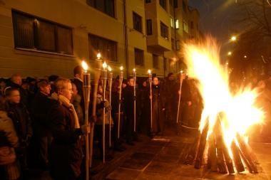 Sausio 13-osios įvykius Klaipėdoje primins ženklai (programa)
