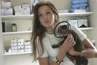 Smurtas prieš gyvūnus: katei išdegino akį ir suluošino kojas (papildyta)