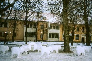 M.Valančiaus gatvelė skelbs Kalėdas