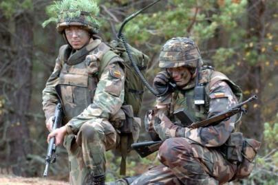 Lietuvos kariai pasiruošę vykti į Gruziją