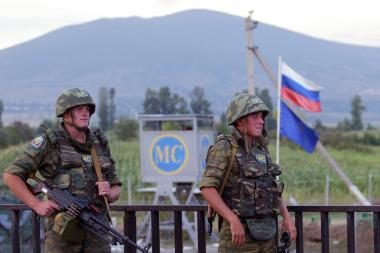 Rusija: gruzinai neteko taikdarių teisių P.Osetijoje