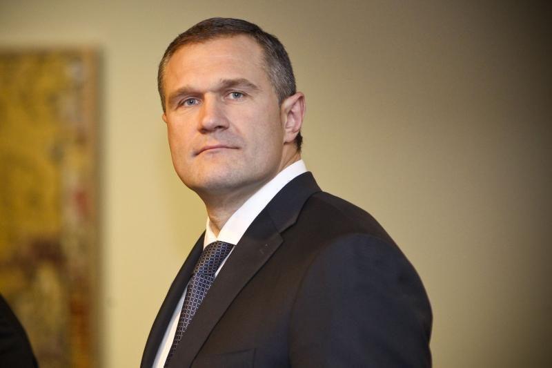 Naujasis vidaus reikalų ministras D. Barakauskas atleido V. Alekną