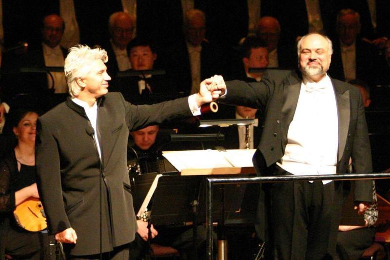 D.Chvorostovskio koncerte – dirigentas, nuo vaikystės stebinęs pasaulį