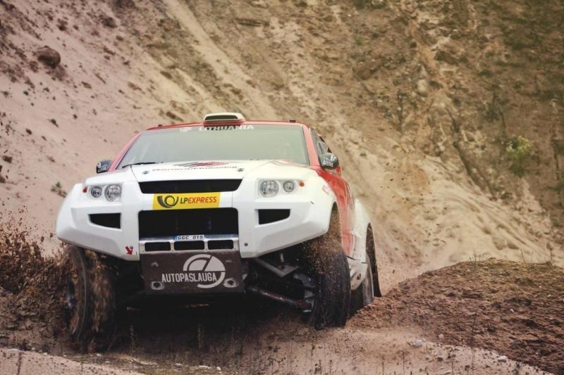 B. Vanago užrašai: Dakaras jau įpusėjo!