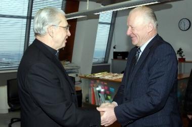 A. J. Bačkis: Caritas susiduria su finansiniais iššūkiais