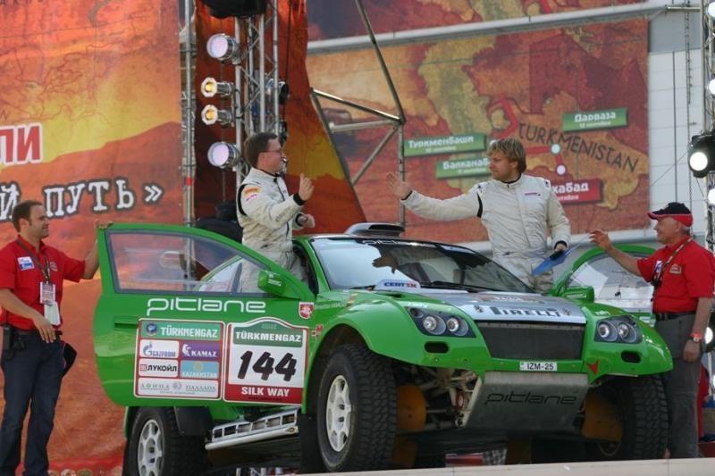 Priešpaskutinį Dakaro ralio etapą lietuvių ekipažas baigė 30 - tas