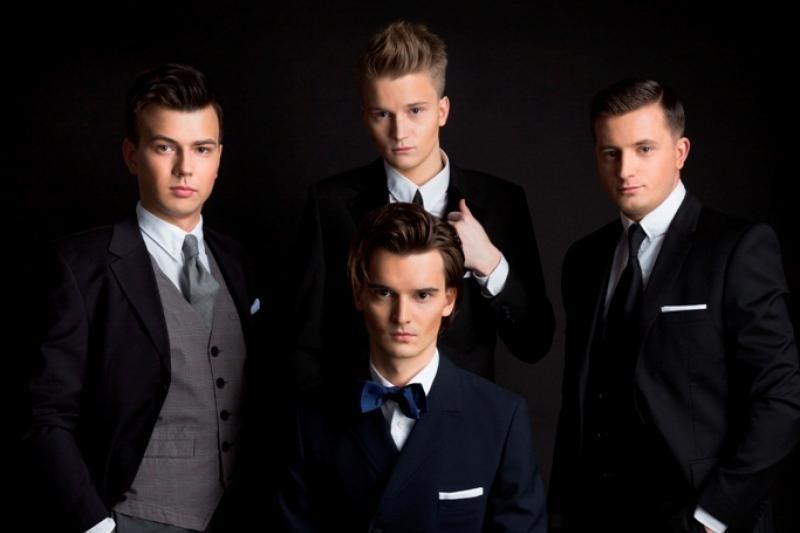 """Vaikinų grupės """"Andrew Flame"""" įvaizdį kūrė M. Petruškevičius (foto)"""